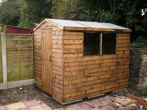 Garden Sheds Kent timber garden sheds and potting sheds for sale | eagle sheds