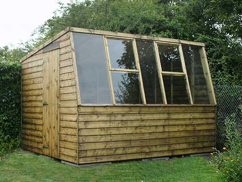 Timber garden sheds and potting sheds for sale eagle for Potting sheds for sale